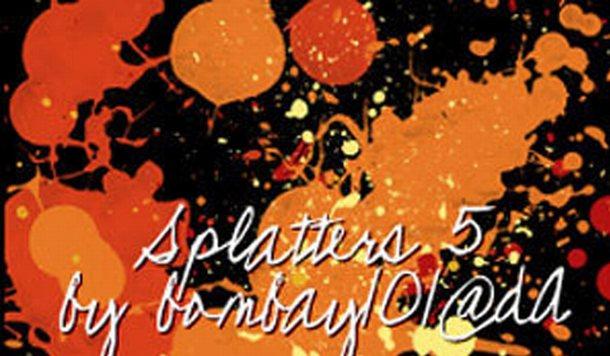 Splatters - Photoshop Brushes