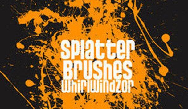Splatter - Photoshop Brushes