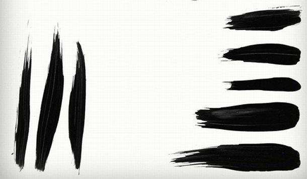 20 Painted Brushes - Photoshop Brushes