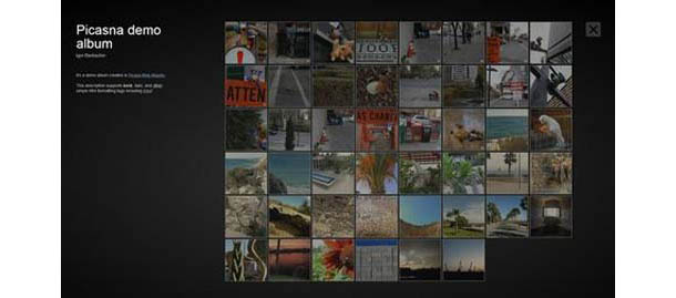 Wordpress Picasna Photo Gallery Plugin