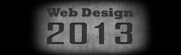 6 Web Design Trends to watch out for in 2013